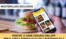 Masterclass sul Food Delivery e le APP per ristoratori