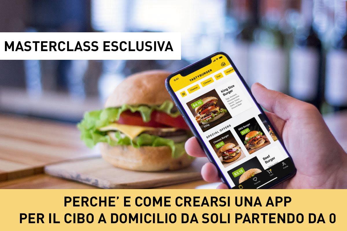 , Masterclass sul Food Delivery e le APP per ristoratori, Migastone Blog