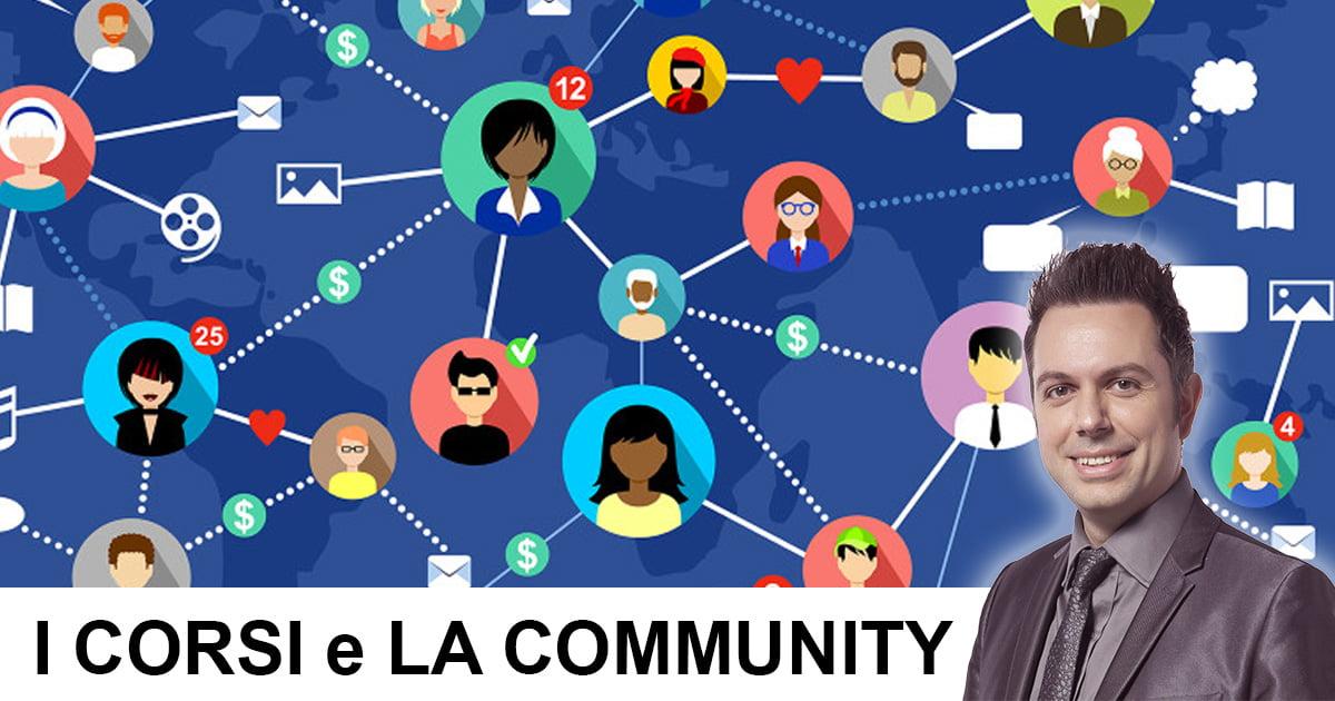 , L'unico aspetto cruciale dei corsi online: La Community, Migastone Blog
