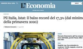 Numeri da Record per il PIL Italiano +17% è tempo di APP e DIGITAL